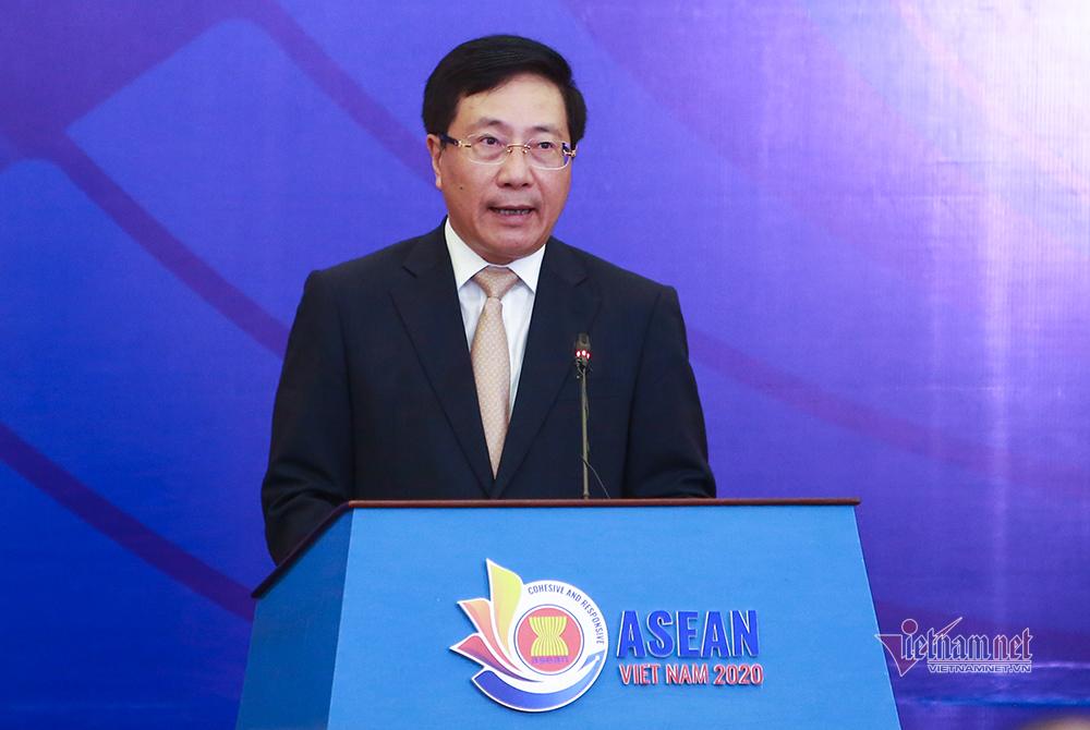 ASEAN kiên định giải quyết tranh chấp ở Biển Đông bằng luật pháp quốc tế