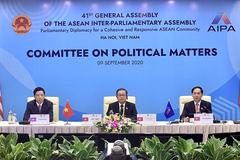 AIPA 41: Các nghị viện đồng tình tiếp tục bảo đảm hòa bình, ổn định ở Biển Đông