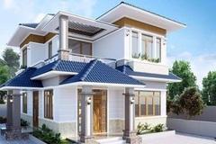 Mẫu nhà 2 tầng đẹp đơn giản hiện đại phù hợp cả nông thôn và thành thị