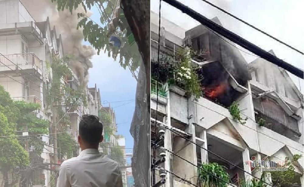 Khói lửa bao trùm căn hộ chung cư ở Sài Gòn, nhiều người hoảng loạn