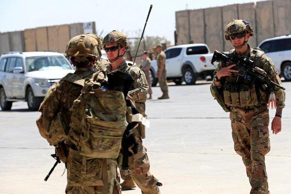 Mỹ rút bớt quân đồn trú khỏi Iraq