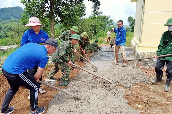 Xã Quảng Đức nỗ lực hoàn thành chương trình xây dựng NTM