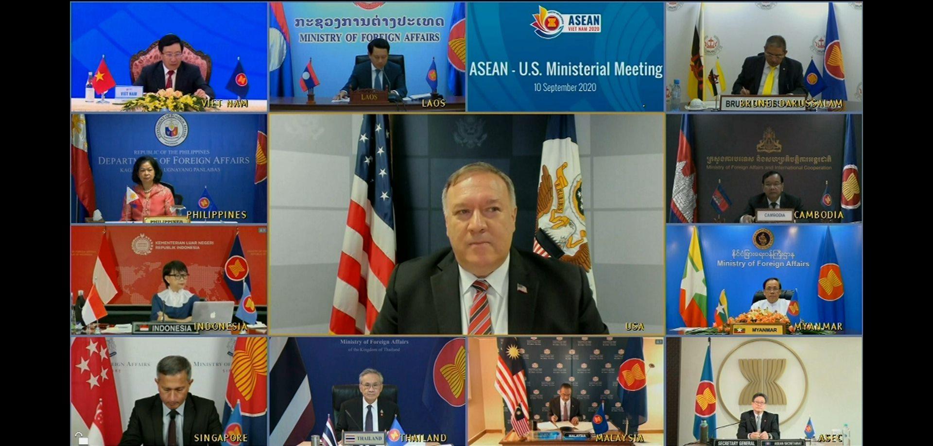 Mỹ khẳng định sát cánh cùng ASEAN về vấn đề Biển Đông