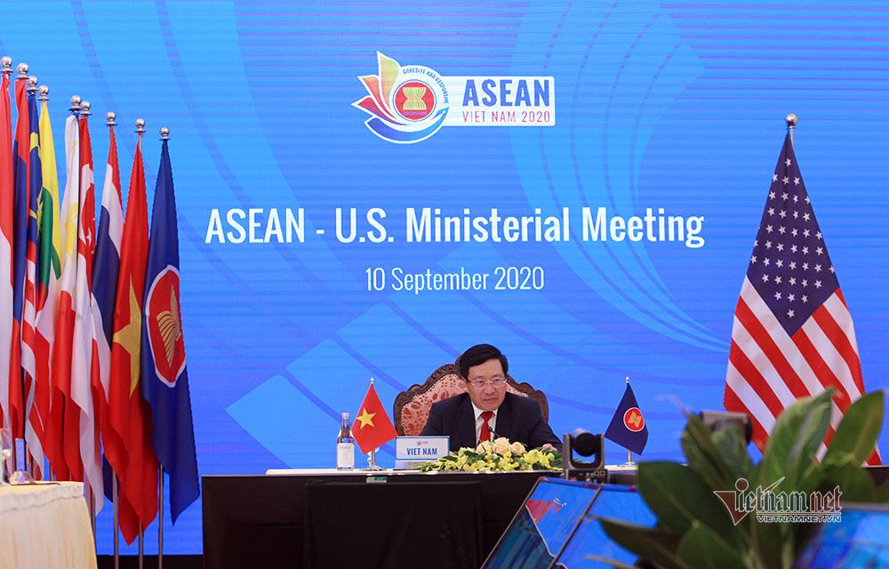 Hoa Kỳ khẳng định lập trường với ASEAN về Biển Đông
