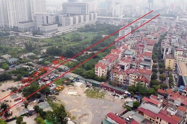 Bộ Xây dựng lên tiếng về 'dự án chồng dự án' gây bức xúc ở Hà Nội