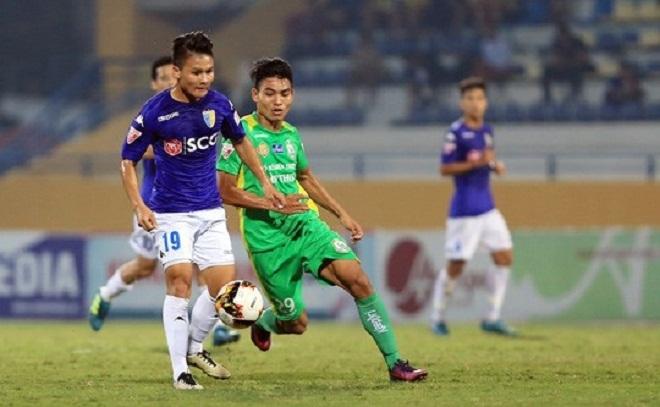 Trực tiếp Hà Nội vs Cần Thơ: Quang Hải đá chính