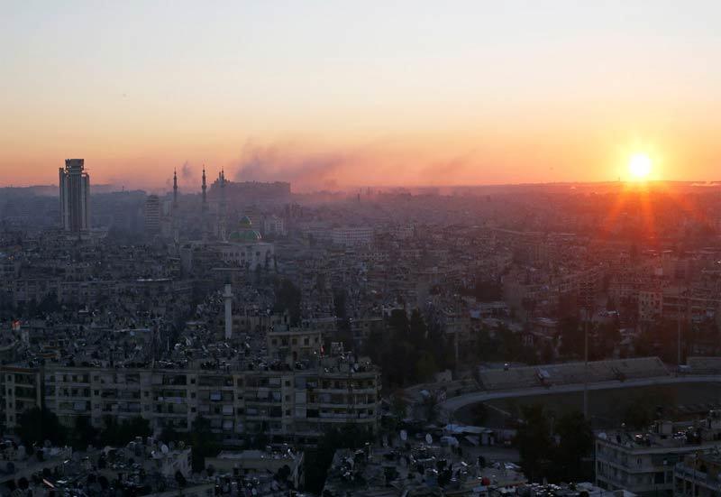 Syria tuyên bố bắn diệt nhiều tên lửa Israel