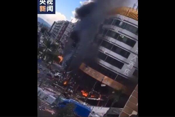 Nổ lớn tại thành phố Trung Quốc