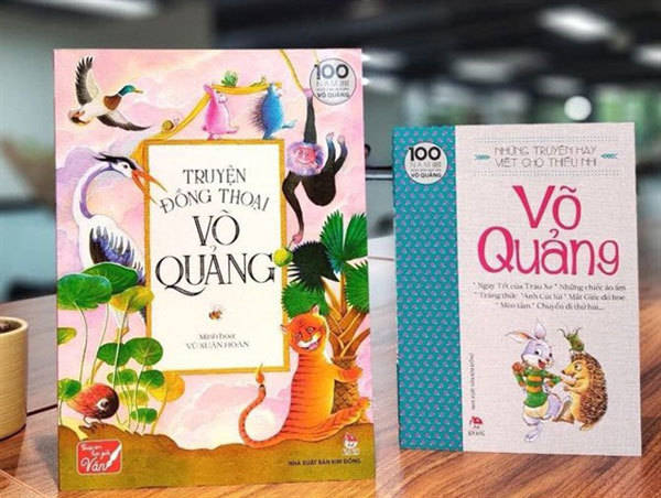 Late author Vo Quang,children's books