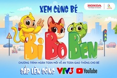 'Tôi yêu Việt Nam' phiên bản mới đưa giao thông vào thế giới trẻ thơ