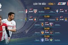 Lịch thi đấu bóng đá vòng 1 La Liga