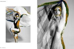 Khanh Van makes debut in French fashion magazine