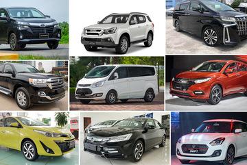 10 mẫu ô tô ế ẩm tháng 8: Toyota nhiều nhất, Ford trở lại danh sách
