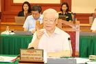 Tổng Bí thư, Chủ tịch nước chủ trì cuộc họp với Ban Thường vụ Quân ủy TƯ