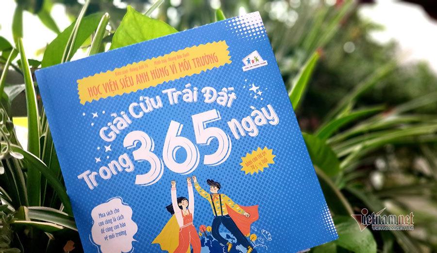 Ra mắt truyện tranh 'Giải cứu Trái đất trong 365 ngày'