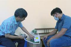 Phu Yen lecturer make portable ventilators
