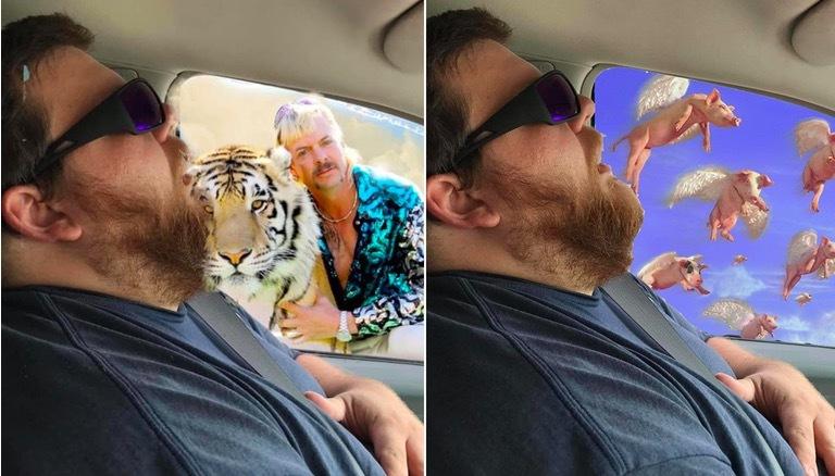 Cười ngất với ảnh chế vợ chơi khăm chồng