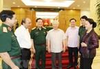 Bộ Chính trị cho ý kiến phương án nhân sự cấp ủy của Quân đội và 5 tỉnh