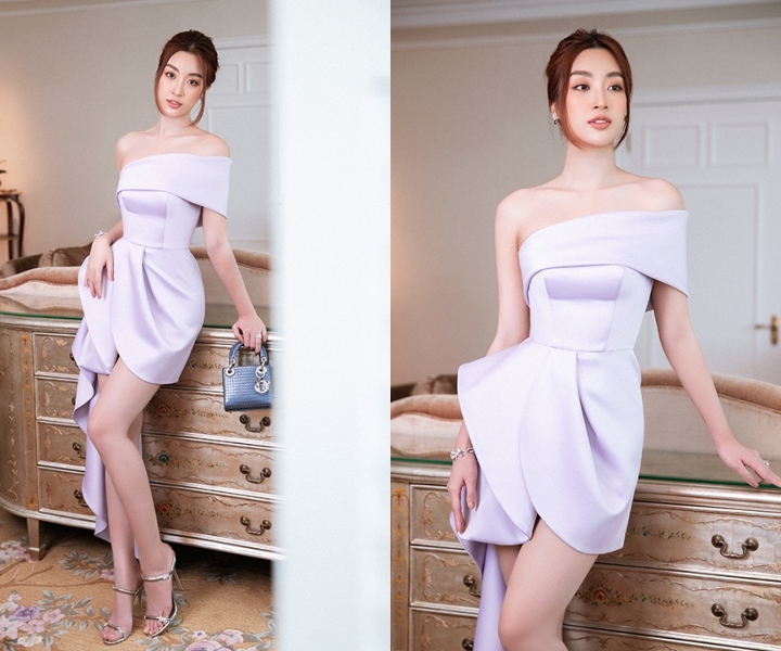 Hoàng Thuỳ Linh, Hương Giang quyến rũ diện đầm cắt xẻ