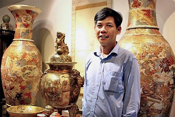 Đại gia Sài Gòn sở hữu bộ gốm Nhật cổ hiếm gặp bậc nhất thế giới