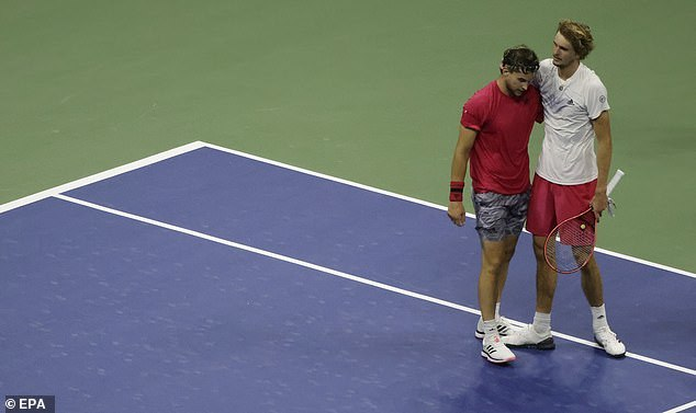 Dominic Thiem lần đầu tiên vô địch US Open