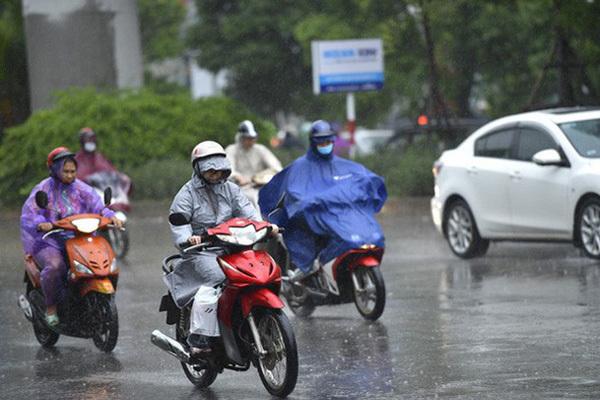 Ảnh hưởng kép từ bão và không khí lạnh, Bắc Bộ mưa lớn cuối tuần