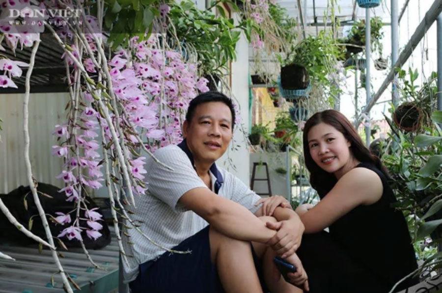 Thái Bình: Ông chủ vườn lan đột biến treo đầy quanh nhà, nhiều chậu tiền tỷ nhìn phát thèm