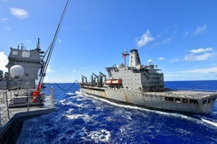 Hình ảnh 'cỗ máy chiến tranh' của Mỹ và đồng minh thị uy trên biển Guam