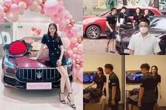 Lộ hậu trường Matt Liu mua xe 8 tỷ tặng Hương Giang quá ngọt ngào
