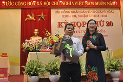 Ông Đặng Văn Minh được bầu làm Chủ tịch UBND tỉnh Quảng Ngãi