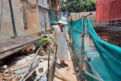 'Siêu dự án' chung cư bị tố lấn chiếm đất, đào hầm sát vách nhà dân