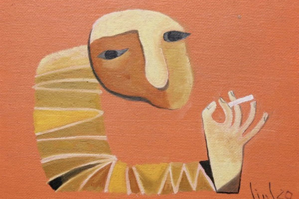 Artists focus on canvas