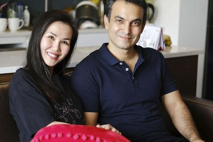 Chồng doanh nhân Ấn Độ hơn 12 tuổi của Võ Hạ Trâm