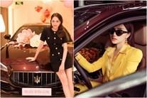 Choáng ngợp bộ sưu tập xe hơi vài chục tỷ của Hương Giang ở tuổi 29