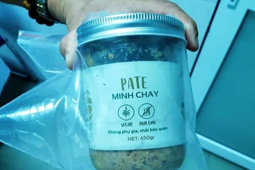 Thêm ba người ngộ độc do ăn pate Minh Chay chứa vi khuẩn botulinum