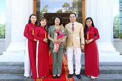Phó Chủ tịch nước Đặng Thị Ngọc Thịnh thăm công ty Trầm hương Khánh Hòa