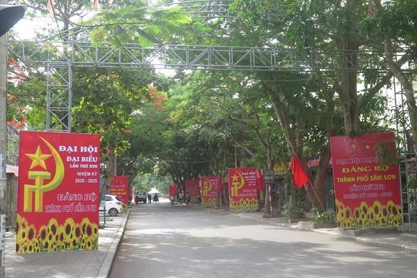 Đại hội Đảng bộ tỉnh Thanh Hóa lần thứ XIX sẽ diễn ra từ 26 đến 29/10