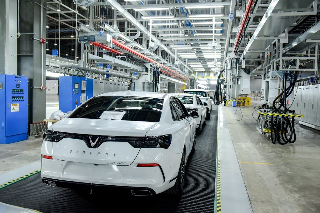Manufacturing automobiles is a costly game