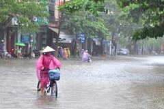 Miền Trung mưa lớn từ chiều mai, có nơi trên 400mm