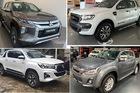 Xe bán tải tháng 5: Ford Ranger, Mitsubishi Triton rủ nhau trượt dốc