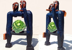 Contemporary artworks go on show at Hanoi - Saigon Sculpture Exhibition