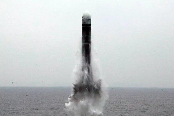 Triều Tiên có dấu hiệu sắp thử tên lửa đạn đạo phóng từ tàu ngầm