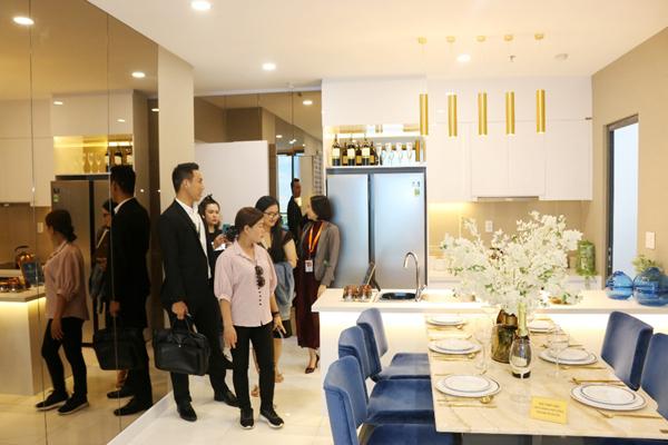 Giá căn hộ tại khu Đông tăng 45% sau 3 năm