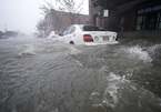 Bão Sally đổ bộ vào Mỹ, ô tô 'bơi' trên phố