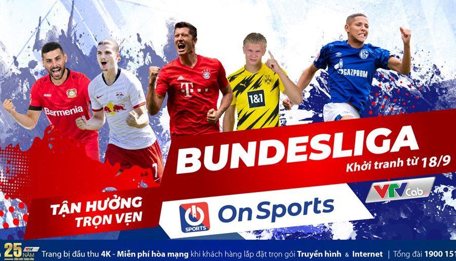 Lịch thi đấu bóng đá Bundesliga vòng 1