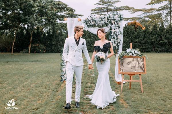 Mê mẩn ảnh cưới nhẹ nhàng, sang trọng tại Mimosa Wedding