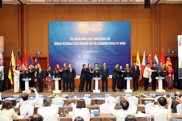 ASEAN prioritises human resource development, putting people at its core