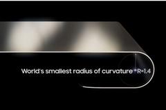Samsung sản xuất màn hình OLED uốn cong 'dẻo' nhất thế giới
