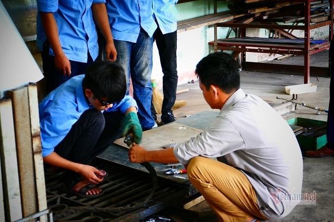 Hiệu quả từ mô hình 9+ ở Trường Trung cấp nghề miền núi Yên Thế