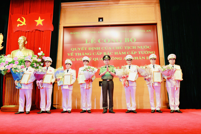 Many high-ranking officials promoted
